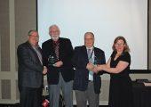 PEMAC's Capstone Award winners were honoured at MainTrain. Photo: Bill Roebuck