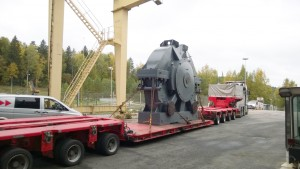 Santasalo performed an overhaul on the largest gear unit in its history.