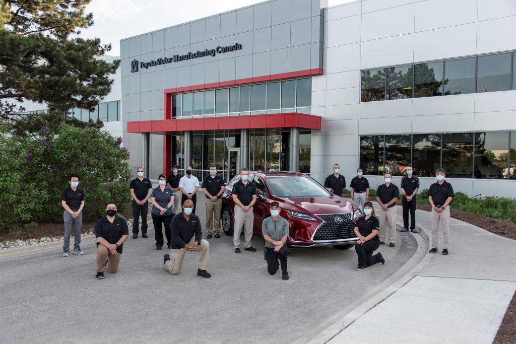 TMMC Builds Nine-Millionth Vehicle