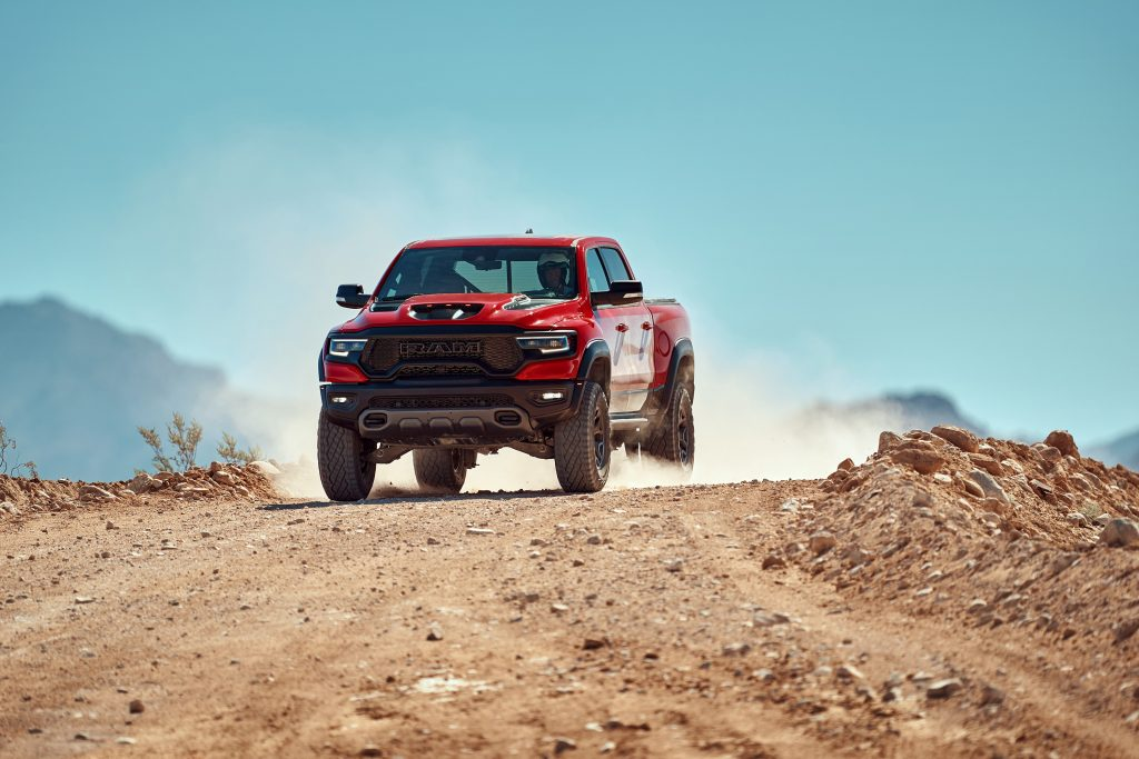Ram Challenges the Raptor with the TRX