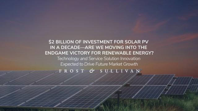 Frost & Sullivan spotlights solar PVs: webinar