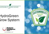 CubicFarm Systems wins Sustainability Product of the Year for HydroGreen