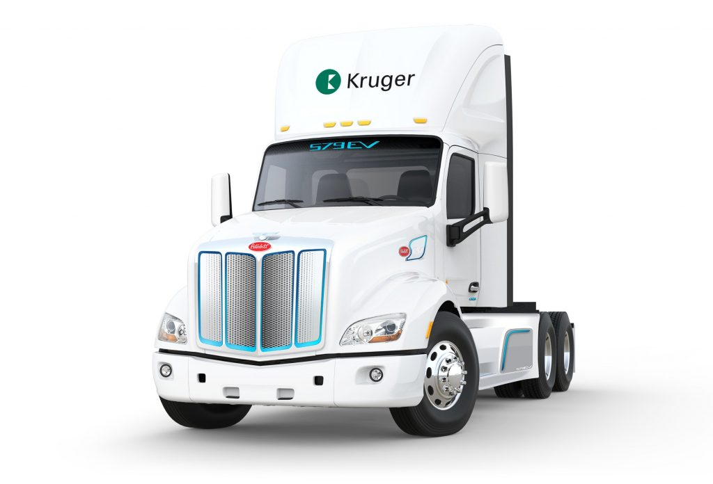 Kruger Energy acquires all-electric trucks